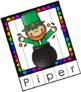 EDITABLE Name and Word Puzzles - St. Patrick's Day