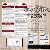 EDITABLE Newsletter Template!