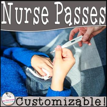 EDITABLE Nurse Passes
