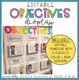 EDITABLE Objectives Display