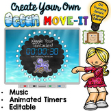 EDITABLE Ocean Move It - Brain Breaks