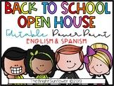 EDITABLE Open House PowerPoint | English & Spanish