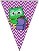 EDITABLE Owl Bunting/Banner