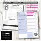 EDITABLE PDF Learning Log for Early Primary Grades - Avid Tool