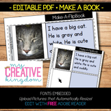 EDITABLE PDF Make a Book Template
