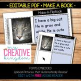 EDITABLE PDF Make a Book Template Freebie