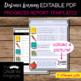 EDITABLE PDF Progress Report Templates