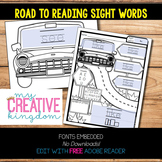 EDITABLE PDF Road to Reading Sight Words