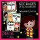 EDITABLE PDF Wizard Class Theme Mega Bundle Free Preview