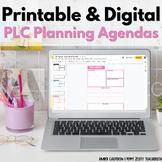 EDITABLE PLC Agenda Meeting Template
