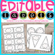 EDITABLE POLKA DOTS LABELS