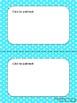 EDITABLE Parent Letter, Announcement, Newsletter, Stationary Polka Dot Border