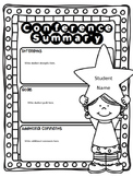 EDITABLE Parent Teacher Conference Forms: Goal Sheet & Reminder