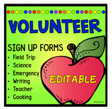 School Volunteer Forms, Tips