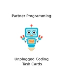 EDITABLE Partner Programming Unplugged Coding Computer Sci
