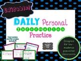 EDITABLE Personal Information Work