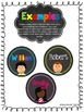EDITABLE Personalized Student Name Badges/Labels