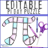 EDITABLE Pi Day Activity - Create your own puzzle on ANY topic!