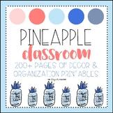 Editable Pineapple Decor