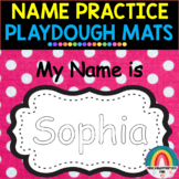 EDITABLE Playdough Name Practice Mats