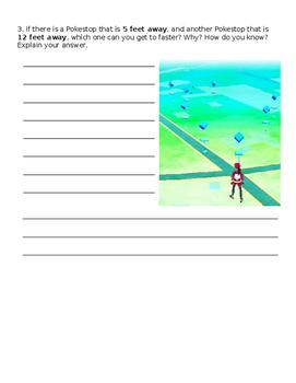 EDITABLE Pokemon GO Word problems!!