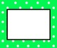 EDITABLE Polka Dot Border for Word