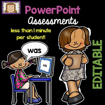 EDITABLE PowerPoint Assessments