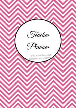 EDITABLE Printable Teacher Planner classroom organizer, lesson planner, checklis
