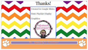 EDITABLE Rainbow Morning Stations Slides (Happy Music Embedded)