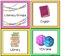 EDITABLE Rainbow Visual Timetable