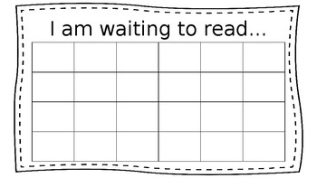 EDITABLE - Reading Conference tracker