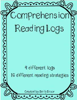 EDITABLE Reading Strategy Logs