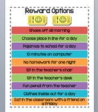 EDITABLE Rewards Poster