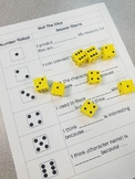 EDITABLE Roll the Dice Formative Assessment