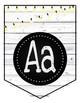 EDITABLE: Rustic Farmhouse Pennant Posters (alphabet, signs)