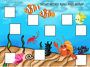 EDITABLE SIGHT WORD GAMES OCEAN ANIMALS PIRATES MERMAID SUMMER