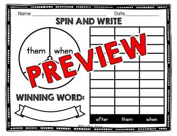 EDITABLE SIGHT WORDS WORKSHEETS AND ACTIVITIES (KINDERGARTEN, SPECIAL EDUCATION)