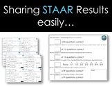 English I/II EOC Result Cards---Make explaining STAAR results fast and easy!