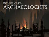EDITABLE STEM Career Challenge - Archeologist