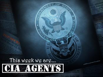 EDITABLE STEM Career Challenge - CIA Agents
