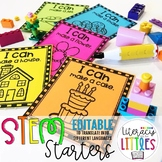 EDITABLE STEM Starters {Task cards to inspire creativity}