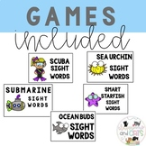 EDITABLE SUMMER sight word cards BONUS! Write the room pages