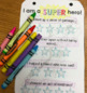 EDITABLE - SUPERhero ID Cards - a kindness activity