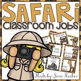 Safari Classroom Jobs {EDITABLE}