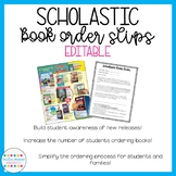 EDITABLE Scholastic Book Order Bundle (for all grades)