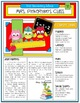 EDITABLE School Class Newsletter Template (Owls Brights Theme)