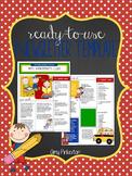 EDITABLE School Class Newsletter Template (School Little K