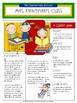 EDITABLE School Class Newsletter Template (School Kids Theme)