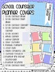 EDITABLE: School Counselor Planner Covers & Spines (Soft Tribal)