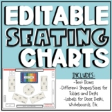 EDITABLE Digital Seating Charts